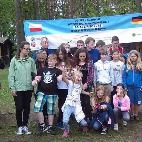 Besuch der Junior-Ranger im Welski Park in Polen 2016