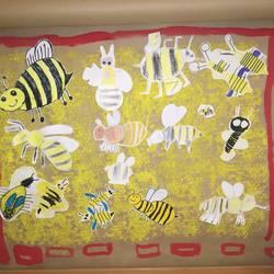 2020 05 05 KITA Wegensedt Collage Bienen